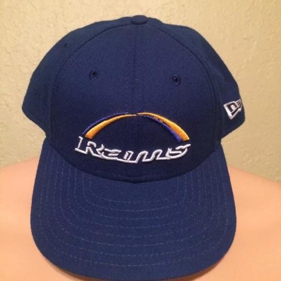 ac19392c Vintage St. Louis Rams Snapback Hat New Era
